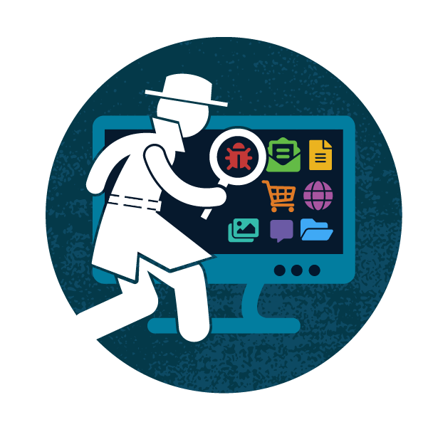 Course badge for Grok Cyber Pursuit